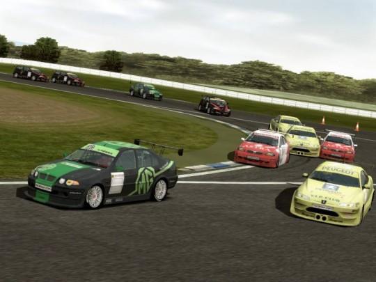 TOCA Race Driver több versenyzővel