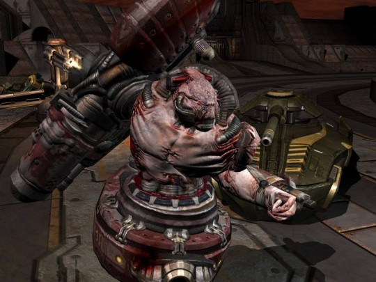 Quake 4 videó, képek