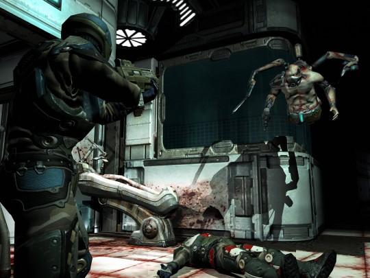 Nagyfelbontású Quake 4 képek