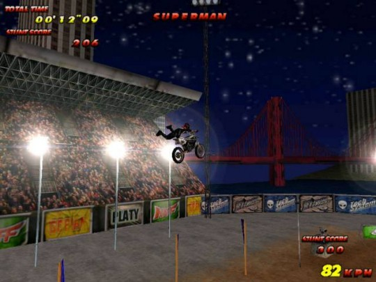 Motocross Mania cheat