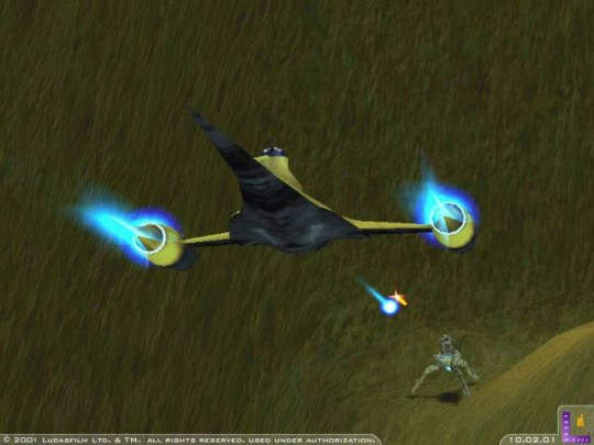 Star Wars: Starfighter cheat