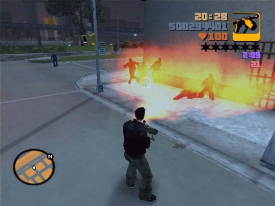 Grand Theft Auto III cheat