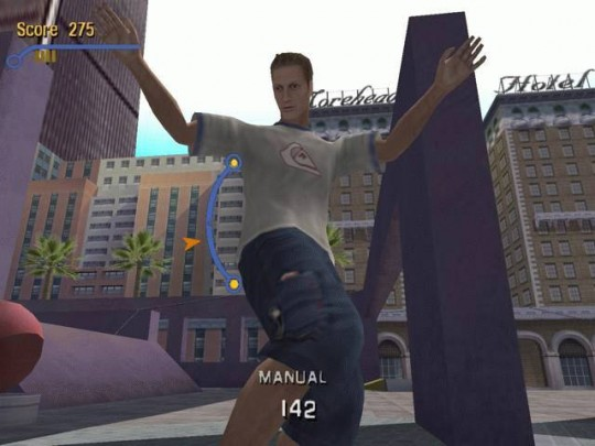 Tony Hawk's Pro Skater 3 cheat