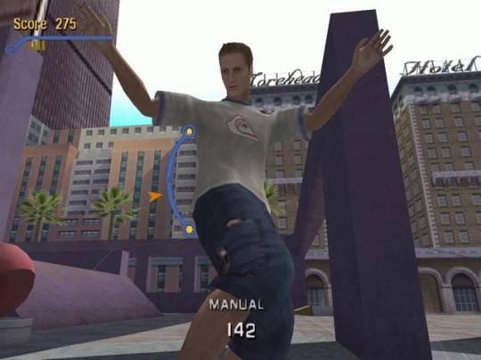 Tony Hawk's Pro Skater 3 cheat