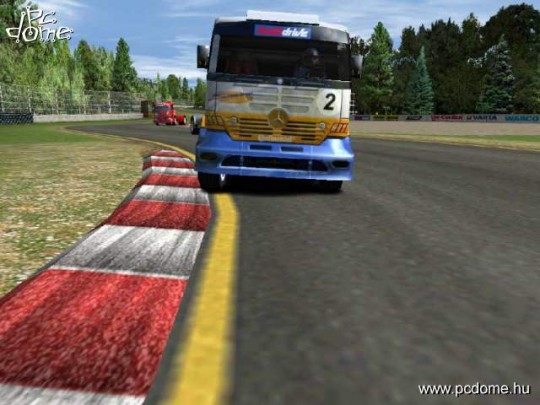 Mercedes Benz Truck Racing cheat