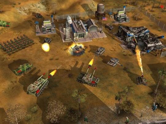 Command & Conquer Generals képek