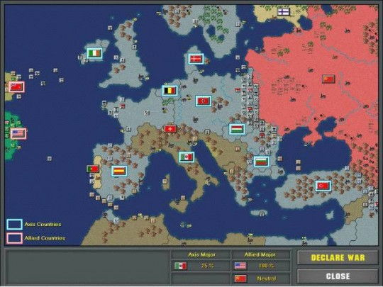 Strategic Command - European Theater