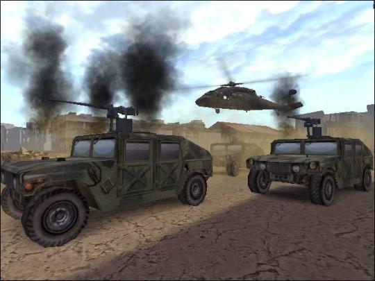Black Hawk Down és az alapítvány