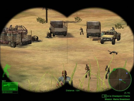 Delta Force: Black Hawk Down cheat