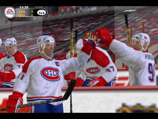 NHL 2003 cheat