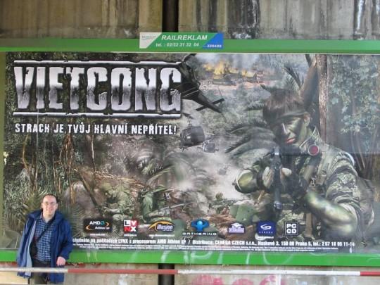 Vietcong óriásplakát
