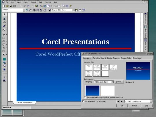 WordPerfect Office 2000 for Linux