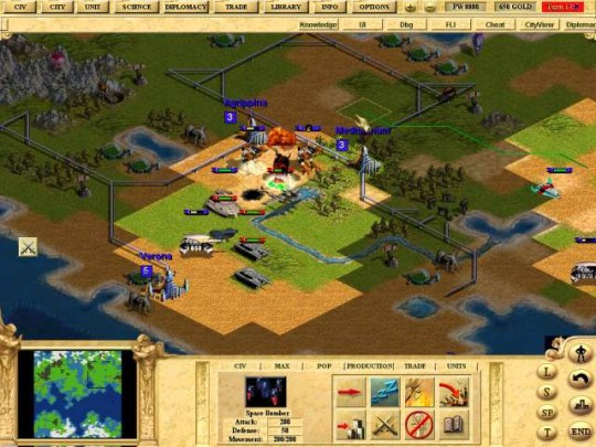Civilization: Call to Power: For Linux