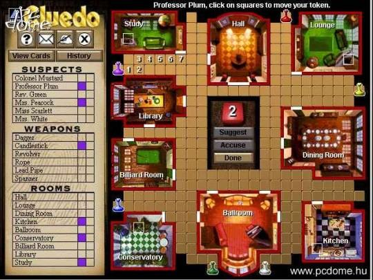 Em@il Games - Cluedo