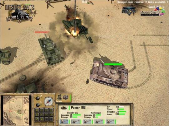 Új Digital Reality játék: Desert Rats vs Afrika Korps