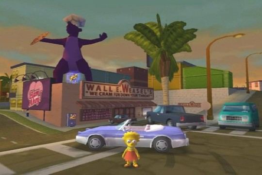 The Simpsons Hit & Run képek