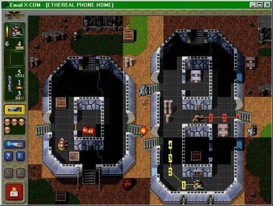 Em@il Games: X-COM First Alien Invasion