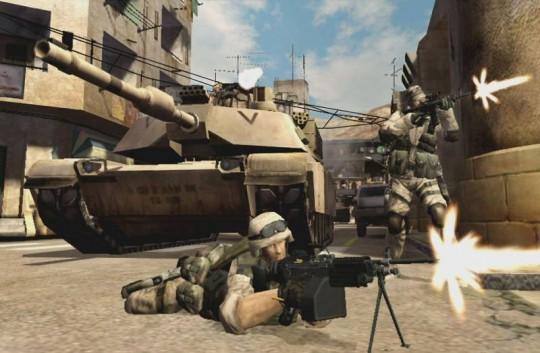 Az első Battlefield 2 képek