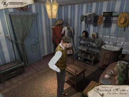 Sherlock Holmes játék