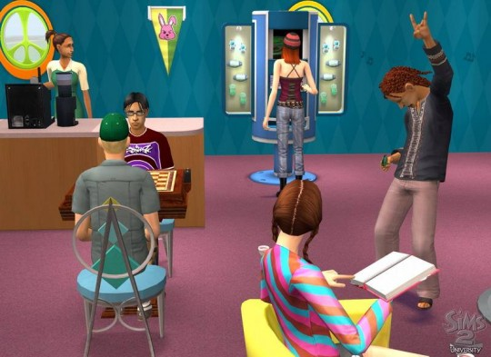 The Sims 2: Egyetem cheat