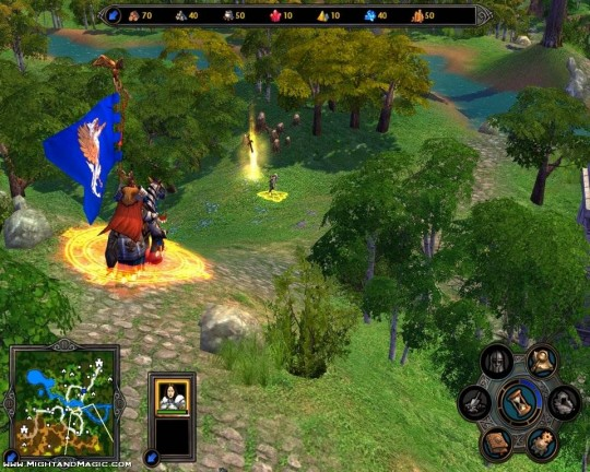 Új Heroes of Might & Magic V képek