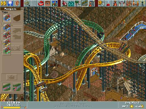 RollerCoaster Tycoon: Added Attractions