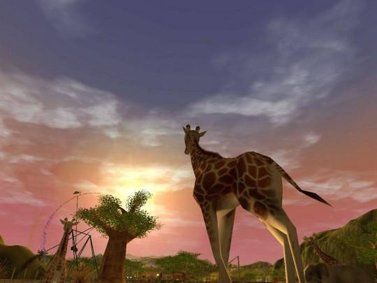 Szafari-park az új RollerCoaster Tycoon 3 kiegészítőben