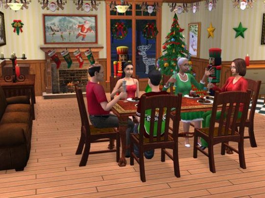 The Sims 2 Christmas Party Pack