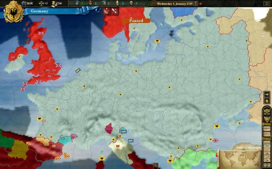 Europa Universalis III patch (1.2.1-es patch)