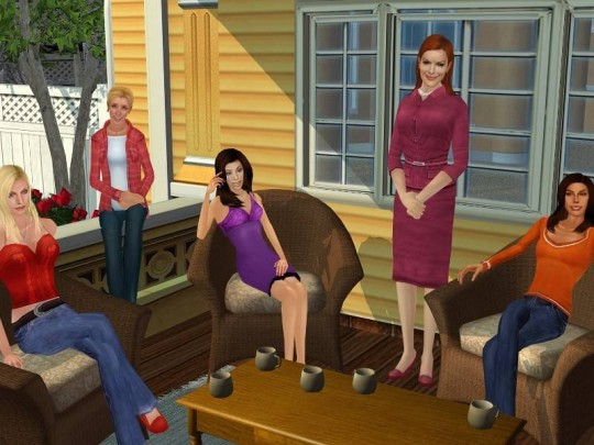 Desperate Housewives: The Game - Szü