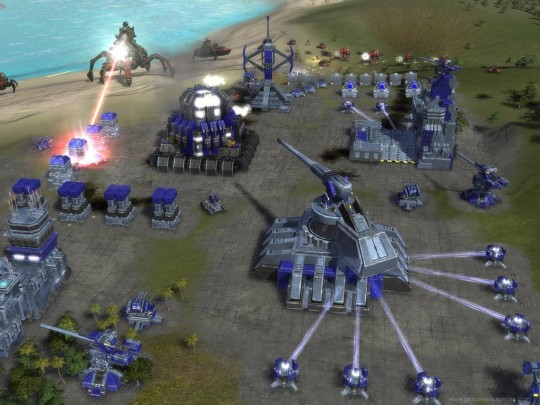 Supreme Commander demo