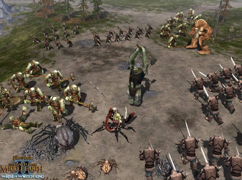 Скриншоты из игры Властелин колец: Битва за Средиземье 2 Под знаменем Корол