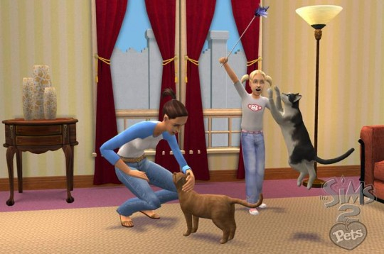 Kisállatos kiegészítő a The Sims 2-höz