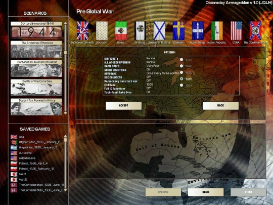 Hearts of Iron II: Doomsday - Armageddon patch (1.1-es patch)