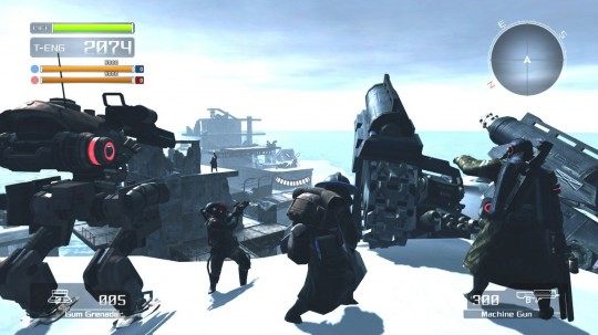 Lost Planet: Extreme Condition demo
