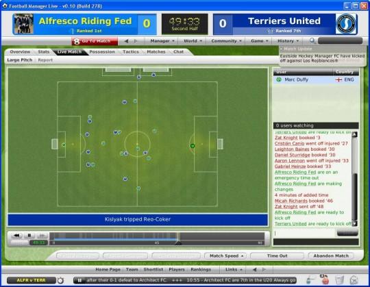 Football Manager Live - képek és infók