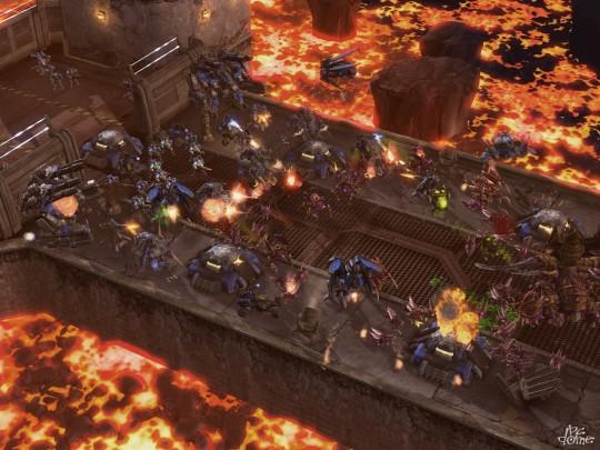 Szétdarabolják a StarCraft 2-t - képek, videók