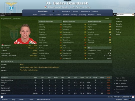 Football Manager 2008 patch (1.2-es patch)