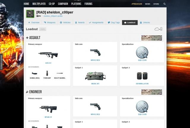 Battlefield 3 - új funkció a Battlelogban