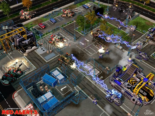 Command & Conquer: Red Alert 3 patch (1.08-as patch (angol))