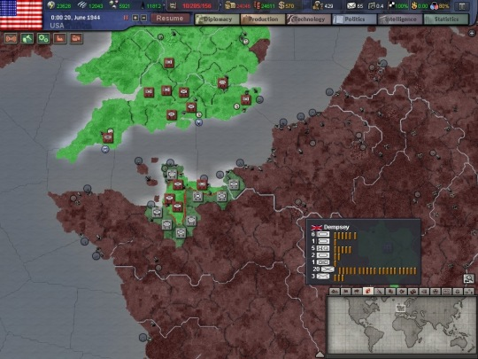Hearts of Iron 3 demo