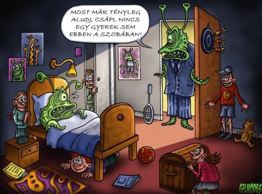 Humoros rajzok a Gobliiins 4 rajzolójától