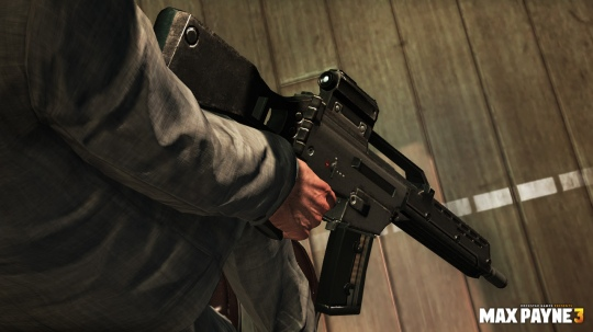 Max Payne 3 - fegyverek