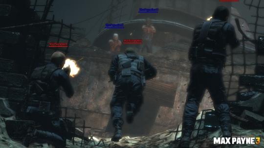 Max Payne 3 - többjátékos képek