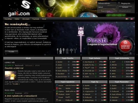 Gal6 - ingyenes online sci-fi stratégiai játék