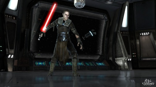 PC-s képek a Star Wars: The Force Unleashedből
