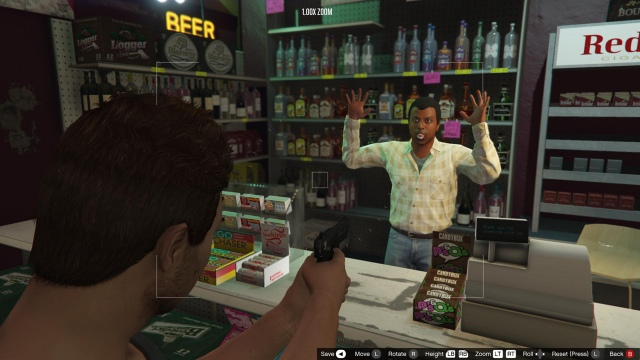 Grand Theft Auto V cheatek