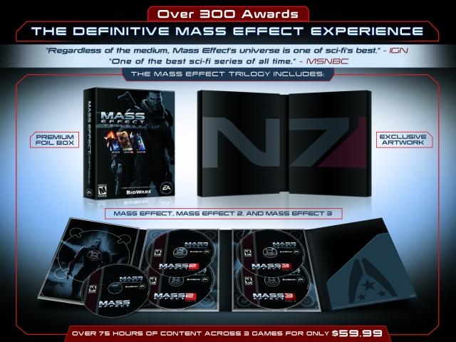 Jön a teljes Mass Effect trilógia egy csomagban