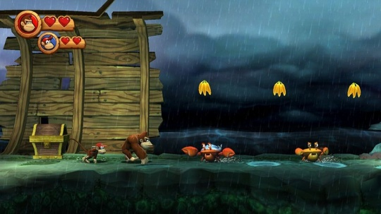 Donkey Kong Country Returns decemberben