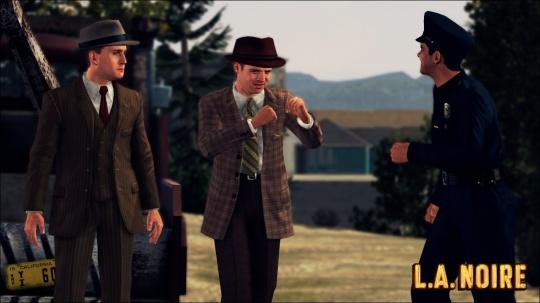 L.A. Noire képek érkeztek